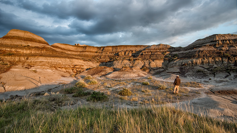 Alberta Badlands View