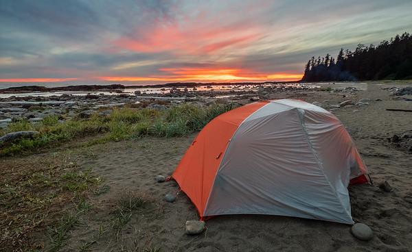 West Coast Tral Campsite