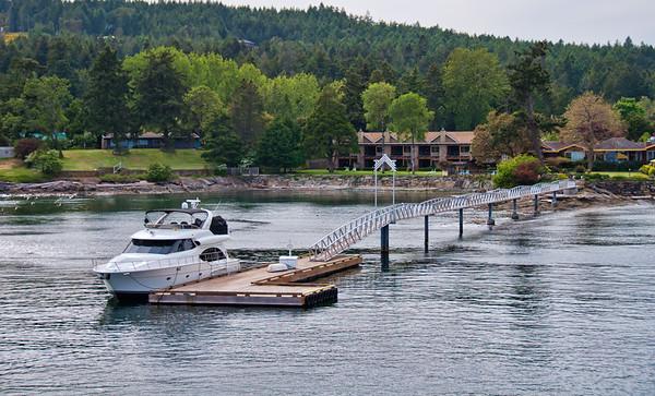 Sturdies Bay Yacht