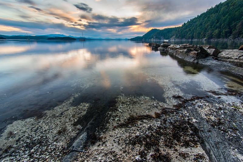 Montague Harbour Rocks