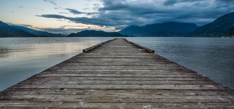 Good Morning Harrison Lake