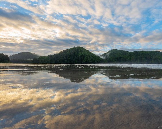 Morning Bay Reflection