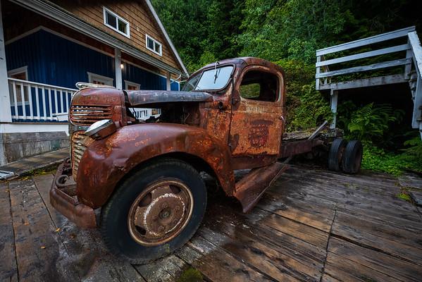 Telegraph Cove Truck