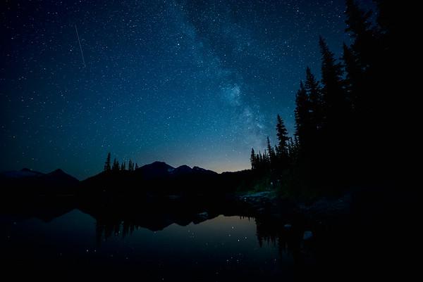 Garibaldi Lake Milky Way