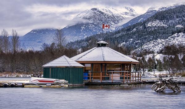 Whistler Air Float Plane Base on Green Lake