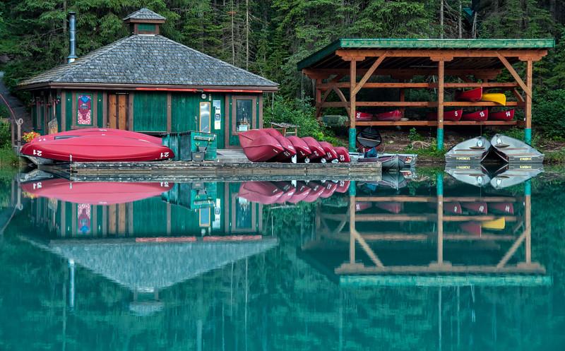 Emerald Lake Boat Rental