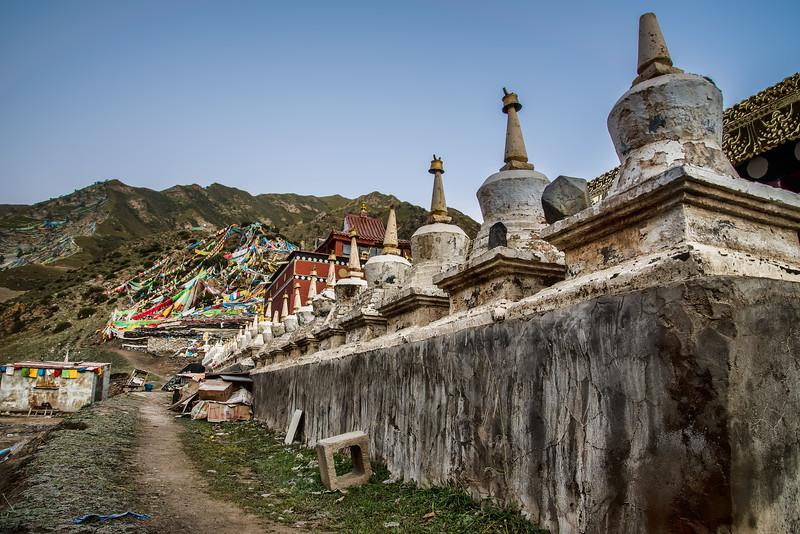 Old Stupas