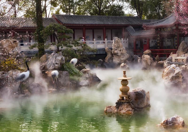 Classic Scene from Donghu Lake