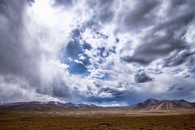 Looming Clouds