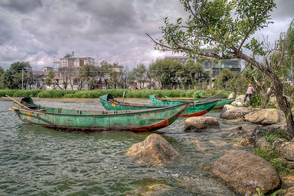Erhai Lake Boats