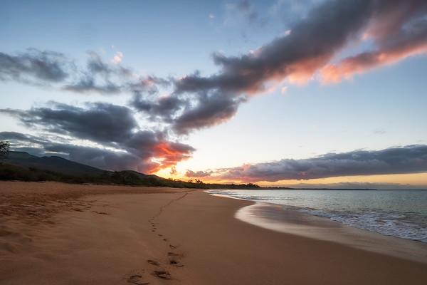 Big Beach Footsteps