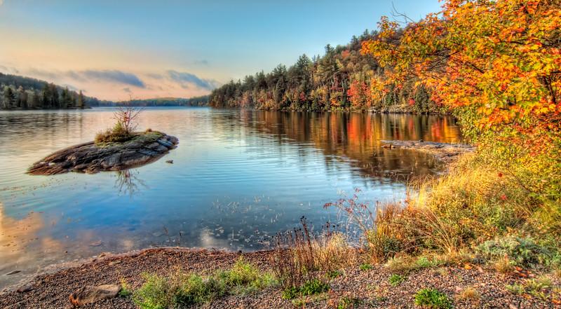 Colourful Fall Morning