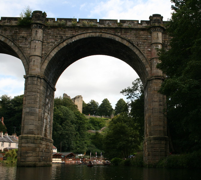 Knaresborough to the castle