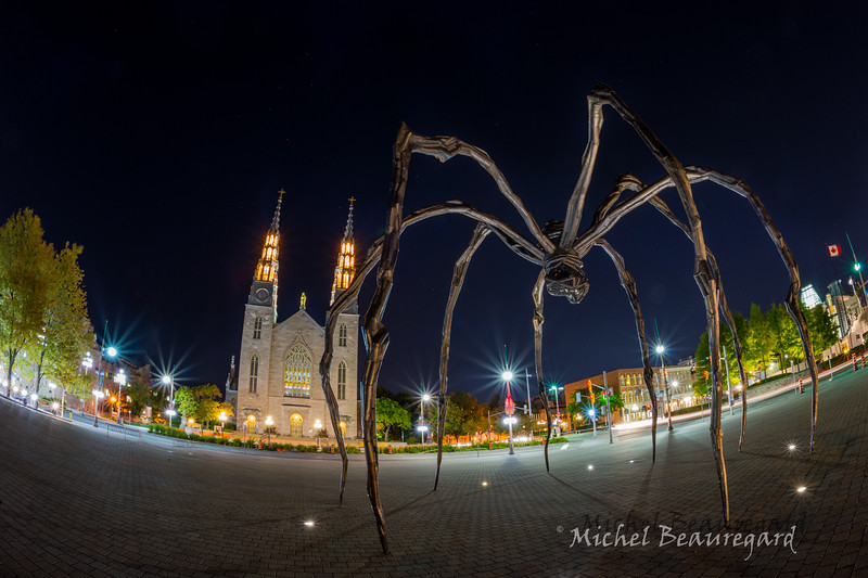 The Maman Statue