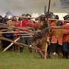 Battle of Sherborne Old Castle<br /> English Civil War - 1642-1651
