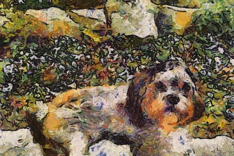 Baldwin as painted by van Gogh