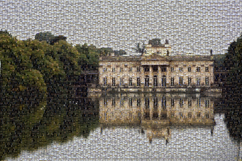 Palace on the water, Lazienki Park, Warsaw, Poland