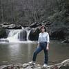 Kari at Chinabee Falls, Munford, AL