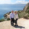 On the mountain above Loutraki, Greece. Korinth on the other side of the bay.