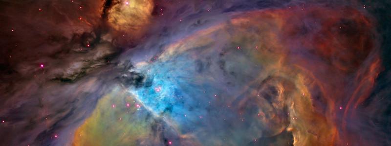 Orion nebula taken by Hubble telescope