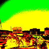 Huntsville_skyline_posterize