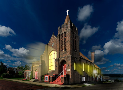 The First Baptist Church, Farrell, Pennsylvaia 2017           Grant Wesley