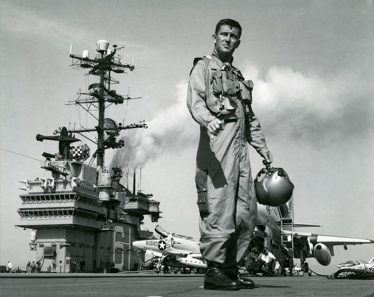 Navy A4E Pilot