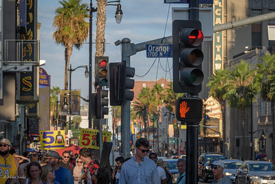 This is Hollywood Blvd ...