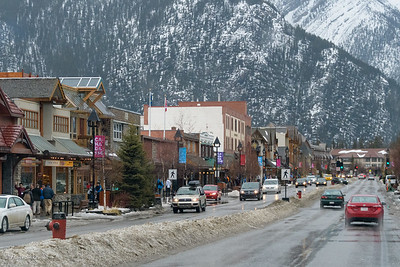 Banff city center
