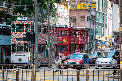 HongKong has the largest double-decker tram fleet in the world