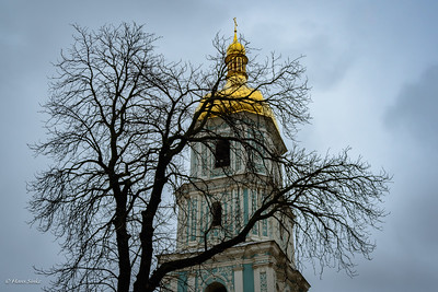 Bell tower Saint Sophia's Cathedral