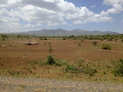Street view near Lake Manyara