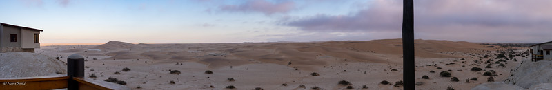 Pano - View from Desert Breeze lodge