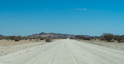 The C28 (a main road!)