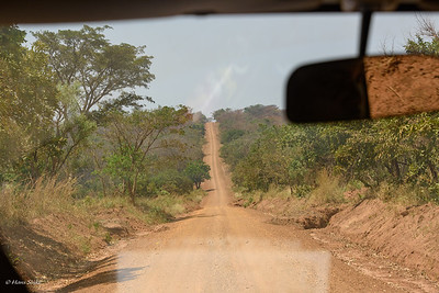 The South part of Murchison Falls is inaccessable to tourist, just this road to Paraa