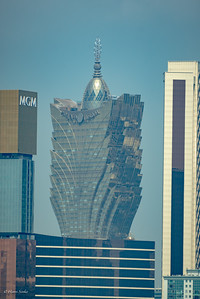 The top of Grand Lisboa