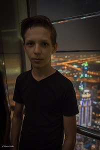 Tim on viewpoin Burj Khalifa