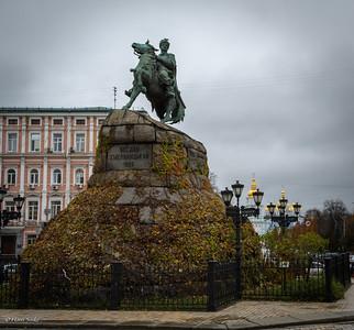 Bohdan Khmelnytsky Monument build in 1888.