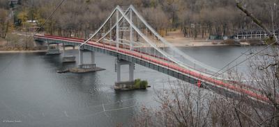 Parkovy (Pedestrian) Bridge build in 1957