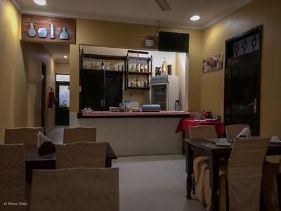 Bar, Restaurant, Breakfast room at Transit Motel Airport. Small but comfortable.