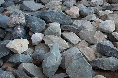 No no stones but prehistoric tools.