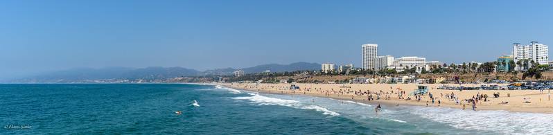 North side view from Santa Monica Pier