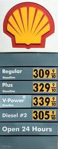 Netherlands: EURO 1,50 / liter  --- USA: EURO 68,77 / liter -> Cheap!