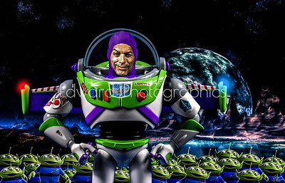 Self Portrait, Me as Buzz...