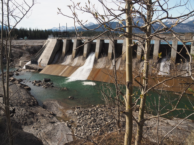 Kananaskis Falls Dam at Seebe