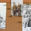 family on mom's bulletin board in the office