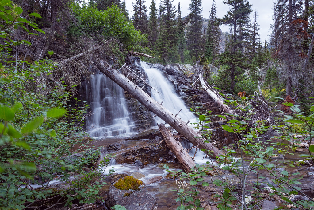 October 25, 2016 - Glacier Park Waterfall
