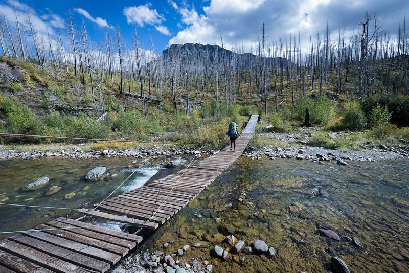 October 22, 2016 - Glacier Park Foot Bridge