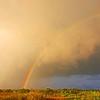 <b>Title - Rainbow Over Marsh Following Rain</b> <i>- Leonard Friedman</i>