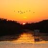 <b>Title - Canoe Trail Sunset at Loxahatchee</b> <i>- Kevin Kovacs</i>